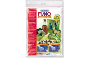 FIMO TEXTURE SHEETS WOOD & VIENNESE